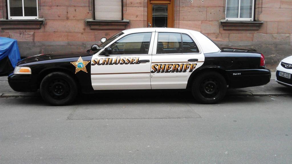 Schnell und zuverlässig, der Schlüssel Sheriff
